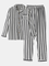 Camicie da uomo a maniche lunghe in cotone a righe comode da uomo