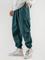Pantaloni larghi da uomo con coulisse multi tasche Carico Pantaloni