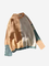 Maglione a maniche lunghe con bottoni a manica lunga in tinta a contrasto