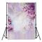 5x7ft Vinyl Dreamlike Purple Flowers Photography Sfondi Background fotografico
