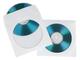 HAMA Bustine di carta CD/DVD-ROM,confezione da 50, colore: Bianco