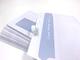 100 buste per lettera con finestra, 220 x 110 mm, stampabile, finestra termoresistente, co...