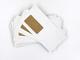 """100 buste per lettera con finestra, """"Natura"""" = colore bianco antico, bianco perlato, bianc..."""