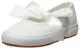 SUPERGA 2257-COTJ, Ballerine con Chiusura sul Retro Bambine e Ragazze, Bianco (White 900),...