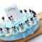 VialeMagico Bomboniere Disney Topolino Nascita Battesimo 1 Compleanno Bimbo Torta Statuina...