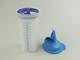 TUPPERWARE Mix-max Shaker Mix-fix in ottone - bicchiere 600 ml XL quick-Shake-it Shake it...