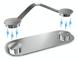 snap2u magnetico porta occhiali clip in acciaio inox–Mai più gli occhiali perdere