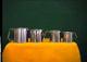 Astesani Set 6 Pignatti Simplex Acciaio Inox Cm 8 Pentola da Cucina