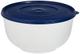 Emsa 2143501200 Superline Recipiente per Lievitazione con Coperchio, Plastica, Bianco/Blu,...