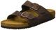 Birkenstock Arizona, Sandali unisex adulto, marrone (habana oiled leather), 42 (Stretto)