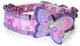 Camon Collare Lilla in Nylon con Farfalla per Cani da 15x420 Mm