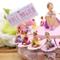 VialeMagico Torta Bomboniere Prima Comunione Bimba Danza Ballerina Princess Statuina 20 fe...