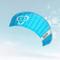 Skymonkey Skystormer 2.3 Aquilone da trazione/Kite (incl. Barra di Controllo) Ready 2 Fly...
