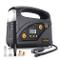 AUTLEAD C5 Compressore Portatile Per Auto, 12V 40L/M, Mini Pompa Elettrica con Manometro D...