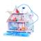 L.O.L. Surprise!- L.O.L Casetta delle Bambole Winter Disco Chalet con 95+ sorprese, Multic...