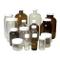 Qorpak 239218 ValuLine - Bottiglia rotonda graduata media, in polipropilene 70-400 bianco...