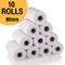 80mm x 50mm rotoli di carta termica per Epson POS Machine rotoli (10 rotoli in una scatola...