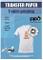 PPD A4 Carta Trasferibile Termoadesiva Per Stampanti A Getto D'Inchiostro Inkjet - T-Shirt...