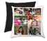 Crea un collage fotografico personalizzato con 8 foto cuscino