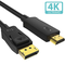 Syncwire Cavo DisplayPort a HDMI - Cavo High Speed 4K Ultra HD DisplayPort a HDMI Connetto...