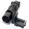 NOGA tattica del Magnifier 3x di vista di portata con Flip al supporto laterale per guida...