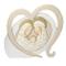 Icona Amore Sacra Famiglia in resina bomboniera nascita comunione
