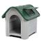 Cuccia per cane dog house media grande resina Water Proof pp esterno interno Verde - Bianc...