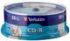 Verbatim CD-R 80MIN Datalife PLUS, Confezione da 25