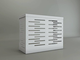 Copri Climatizzatore/Condizionatore BIANCO per Unità Esterna L900xH700xP450 in Alluminio C...