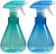 Cymax 2 Pezzi 500ML Spruzzino Nebulizzatore per Piante e Fiori Trasparente in plastica