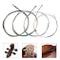 Imelod Corde per violoncello Set completo (A-D-G-C) Nucleo in acciaio universale con rives...