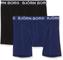 Björn Borg Shorts Noos Solids 2P Boxer a Pantaloncino, profondità Blu, XL Uomo