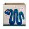 3 Sprouts 107-002-008 Storage Box Cubo Contenitore, 33 x 33 x 33 cm, Multicolore (Serpente...