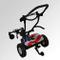 XINTONGSPP Elettrico High-End Pieghevole Golf Car, Leggero a Quattro Ruote del Carrello di...