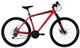 Coppi, Mountainbike Alu Unisex-Adult, Rosso, L