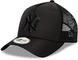 New Era York Yankees Frame Adjustable Trucker cap Trucker Bob Black - One-Size
