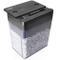 Duronic PS391 Distruggidocumenti 3 fogli taglio a micro frammenti 3x9mm capacità 5L Livell...