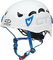 Climbing Technology Galaxy, Casco Unisex – Adulto, Bianco/Azzurro, Regolabile da 50-61 Cm