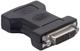 DeLOCK 65017 cavo di interfaccia e adattatore DVI-I VGA 15-pin M Nero