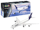 Revell- Boeing 747-8 Lufthansa New Livery Kit Aeromodello, Colore Bianco, RV03891