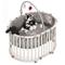 Roba Box Ovale 'rock Star Baby', Box per Giocare in Sicurezza Incluso Paracolpi e Ruote, L...