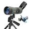 Cannocchiali HD con Treppiede, Potente Telescopio Monoculare FMC Ottico Impermeabile e Ant...