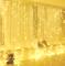Yizhet Tenda Luminosa 3x3m 300 LED Natale Tenda Luci, Impermeabile IP44 Luci per Tende con...