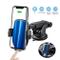 Zeonetak Caricatore Wireless Auto,Qi 10W Ricarica Veloce Rotazione a 360°, Clamping Silenz...