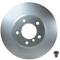 HELLA PAGID 8DD 355 109-921 Discofreno PRO, Assale anteriore, Spezifikation: rivestito, Se...