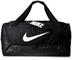 Nike Brasilia, Borsone Unisex – Adulto, Black/Black/(White), Taglia Unica