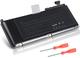 """7XINbox 63.5Wh 10.95V A1331 Batteria per computer portatile per MacBook Unibody 13""""A1342 (..."""