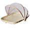 Szetosy, Cestino in bambù intrecciato a mano con copertura in rete, per coprire e servire...