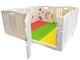 Tutte le stelle nel box del bambino | 8 pezzi compreso il pannello attività divertente | S...