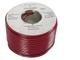 Velleman LOW2250RB cavo audio 100 m Nero, Rosso